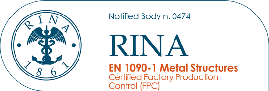 certificazione rina en 1090-1 Metal Structures